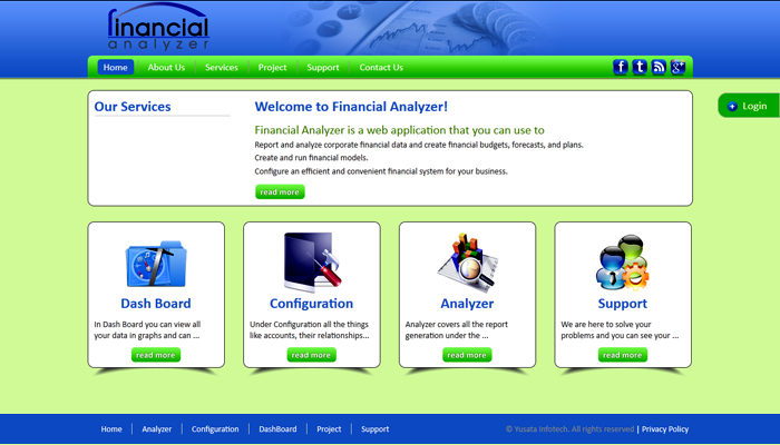 Financial Analyzer