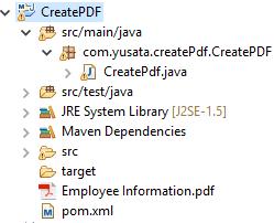 Create PDF using iText library   Yusata Infotech Blogs