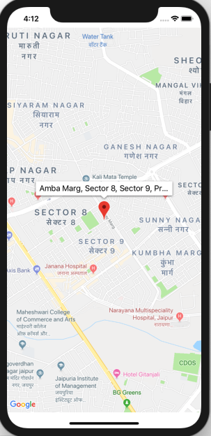 Dragging Marker in GoogleMaps In iOS Swift | Yusata Infotech