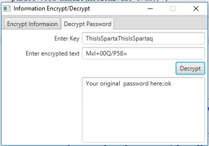 Encrypt and Decrypt information App | Yusata Infotech Blogs
